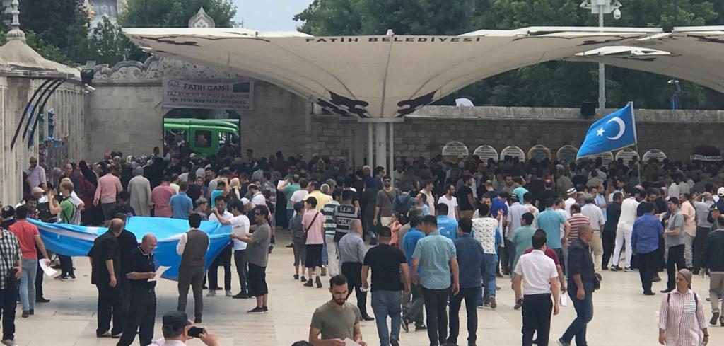 WhatsApp-Image-2019-06-21-at-18.32.06-1024x489 Doğu Türkistanlı yazar için gıyabi cenaze namazı kılındı
