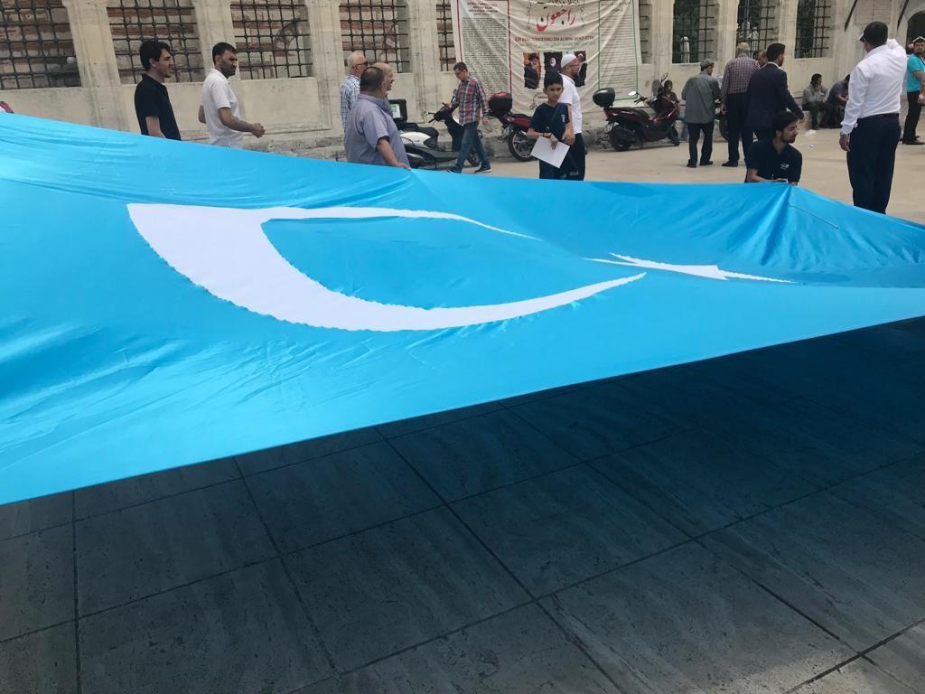WhatsApp-Image-2019-06-21-at-18.34.23-1024x768 Doğu Türkistanlı yazar için gıyabi cenaze namazı kılındı