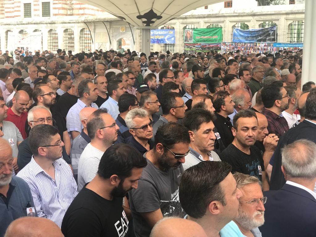 WhatsApp-Image-2019-06-21-at-18.35.20-1024x768 Doğu Türkistanlı yazar için gıyabi cenaze namazı kılındı