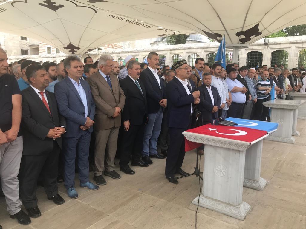 WhatsApp-Image-2019-06-21-at-18.36.50-1024x768 Doğu Türkistanlı yazar için gıyabi cenaze namazı kılındı