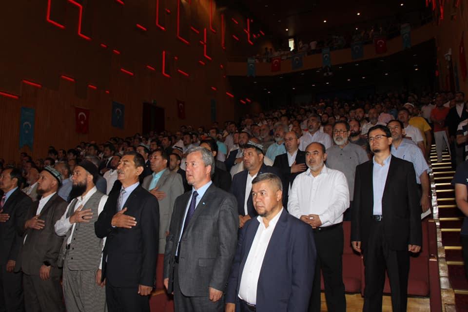 66478904_892868871080750_9142970085864898560_n 11. Dünya Doğu Türkistanlılar Kardeşlik Buluşması gerçekleşti