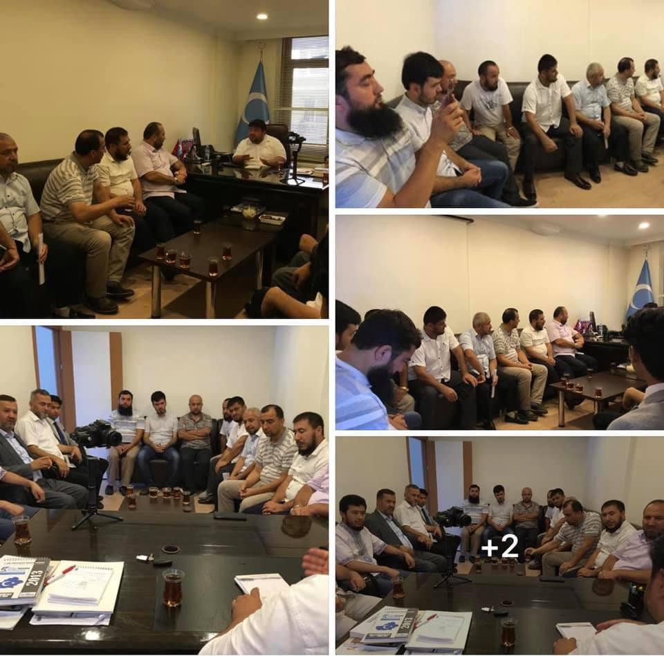 67509332_2388493484518991_6758911289784795136_n İstanbul'daki Gulca Meşref Topluluğunun heyeti Derneğimizi ziyaret etti