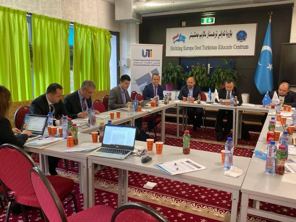 69393621_984716405229329_8385646748898426880_n-1 Hollanda'da 4. Doğu Türkistan Stratejik Müzakereler Toplantısı başladı