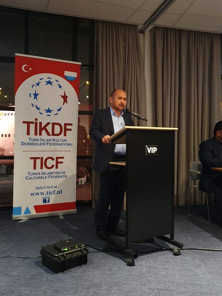 74459675_984931825207787_5903441606438027264_n Amsterdam'da Doğu Türkistan Konferansı Düzenlendi.