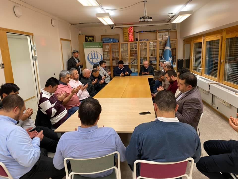 74643715_989918218042481_3507078420544618496_n-1 Dernek Başkanımız Hidayet Oğuzhan İsveçtek Uygurları ziyaret etti