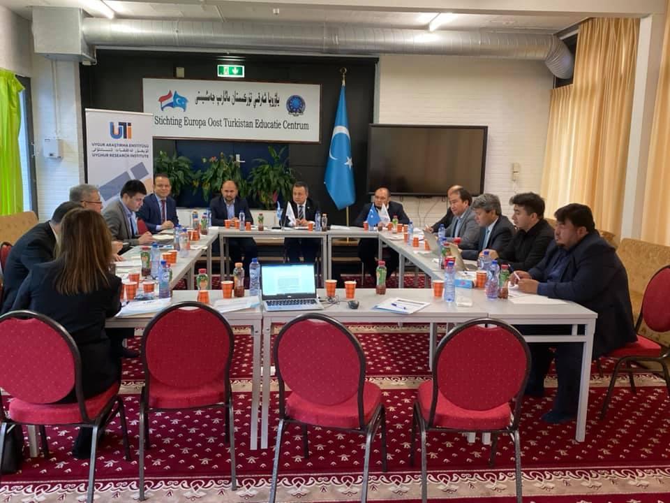 75103845_984716195229350_9146236636126773248_n Hollanda'da 4. Doğu Türkistan Stratejik Müzakereler Toplantısı başladı