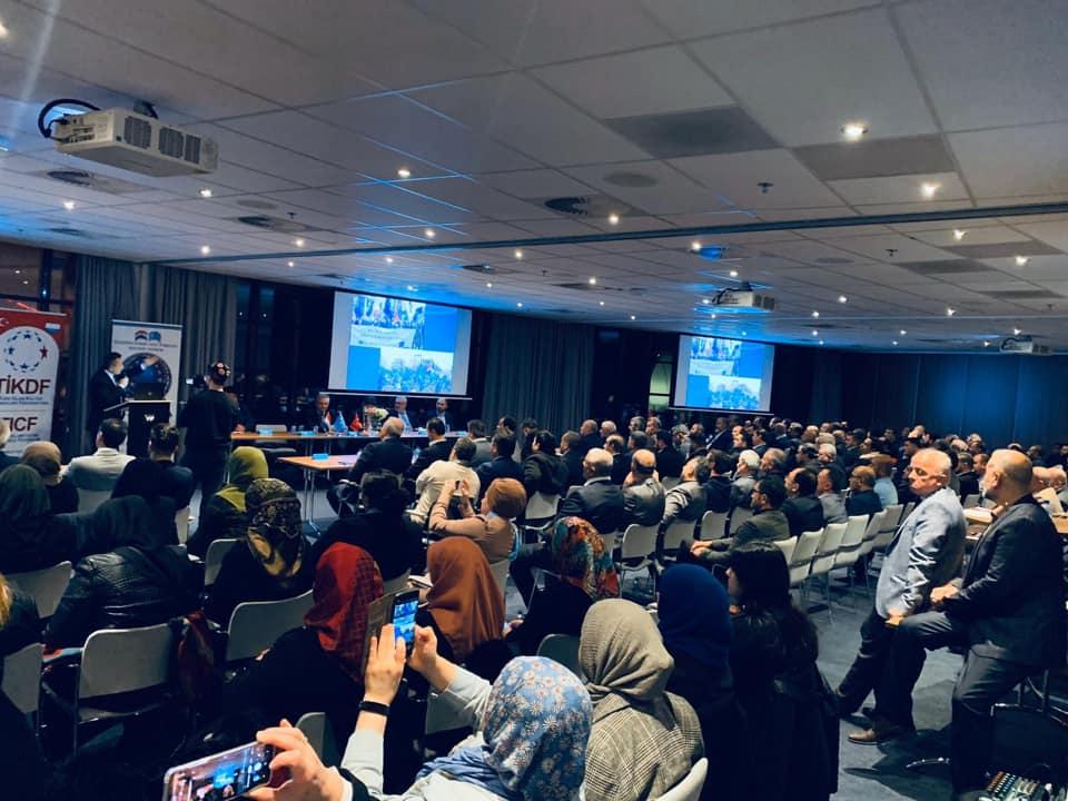 75223747_984931731874463_2843230554239795200_n Amsterdam'da Doğu Türkistan Konferansı Düzenlendi.