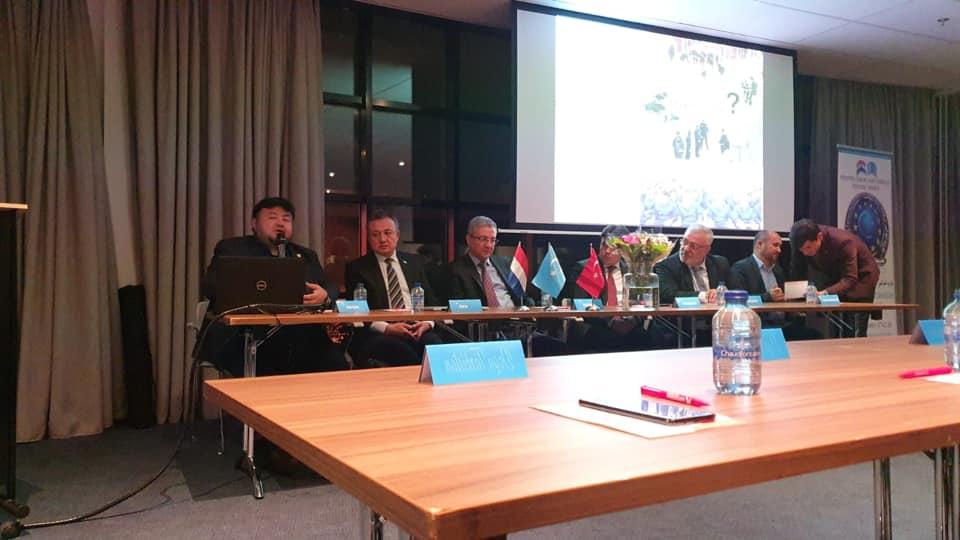 75388235_984932245207745_2050823884290129920_n Amsterdam'da Doğu Türkistan Konferansı Düzenlendi.
