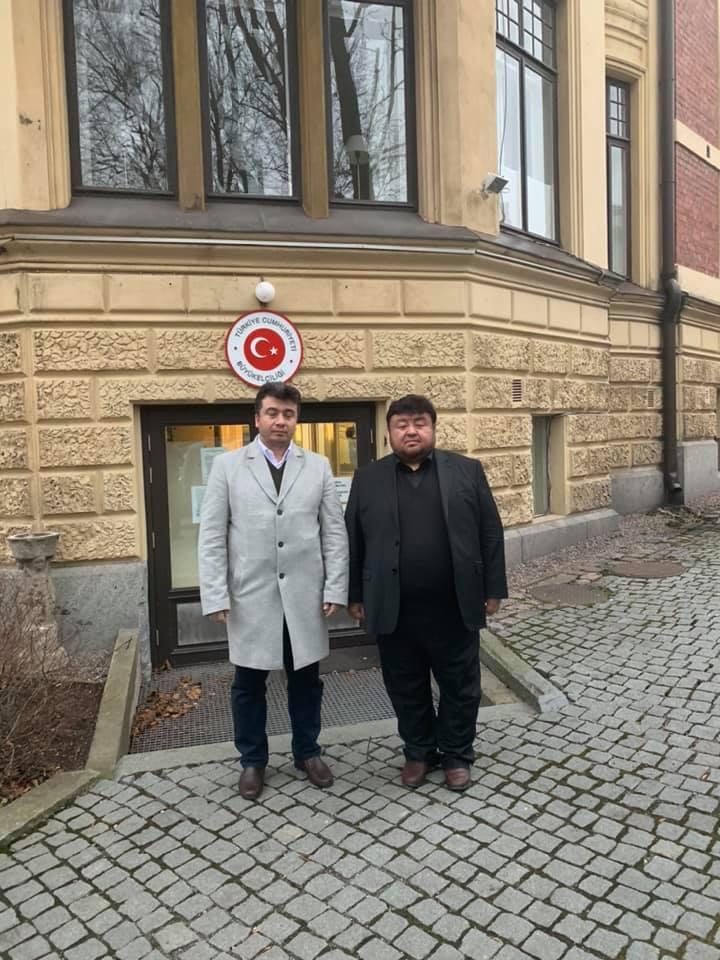 76656137_990902987944004_1653475538951471104_n Dernek Başkanımız Hidayet Oğuzhan Finlanda Helsinki Büyükelçiliğini ziyaret etti