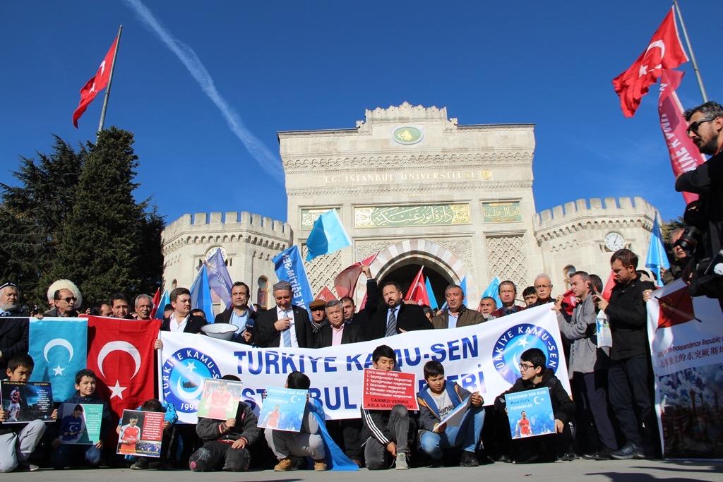 42F5991C-85A0-4443-8D04-4C04D60B8DB9 Türkiye Kamu-Sen İstanbul şubeleri tarafından Doğu Türkistan basın açıklaması