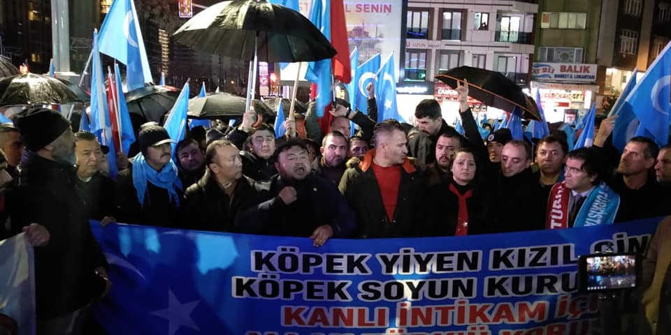 80542206_2682642358437434_7338560342340927488_n-1 Zeytinburnunda Doğu Türksitan yürüyüşü gerçekleşti