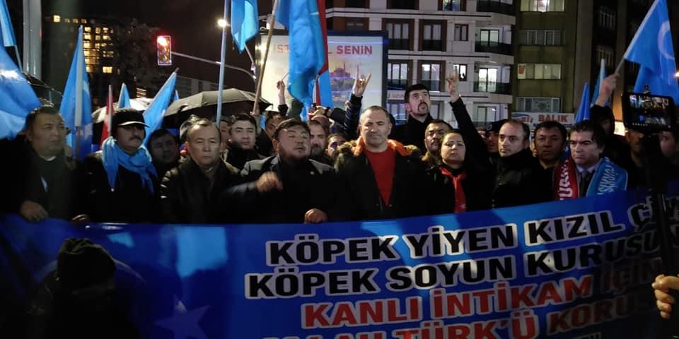 80966968_2682642245104112_2822277573466128384_n Zeytinburnunda Doğu Türksitan yürüyüşü gerçekleşti