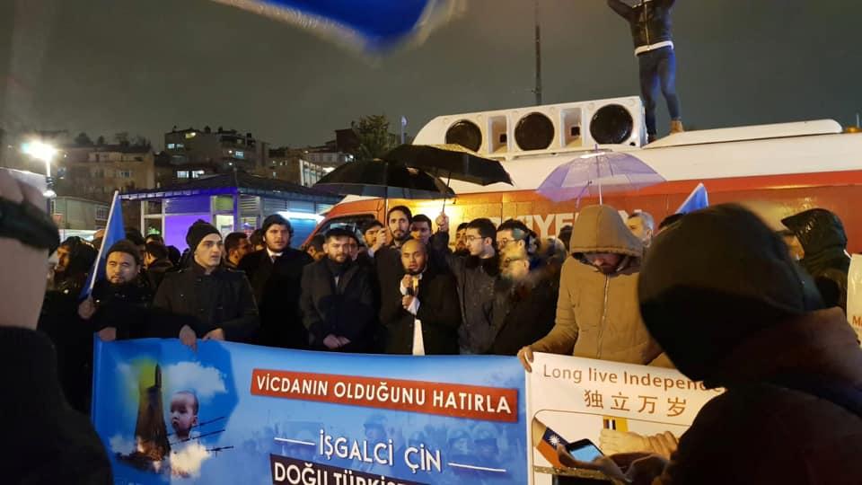 81223695_2682786721756331_1959745628149907456_n-2 Saadet Partisi ve STK'lar Doğu Türkistan için basın açıklaması gerçekleştirdi