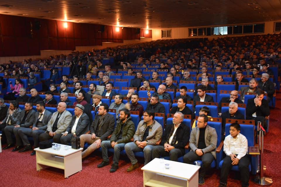 82524000_10220569334642016_583249304597037056_n-1 Ereğlide unutulan vatan Doğu Türkistan konulu konferans düzenlendi