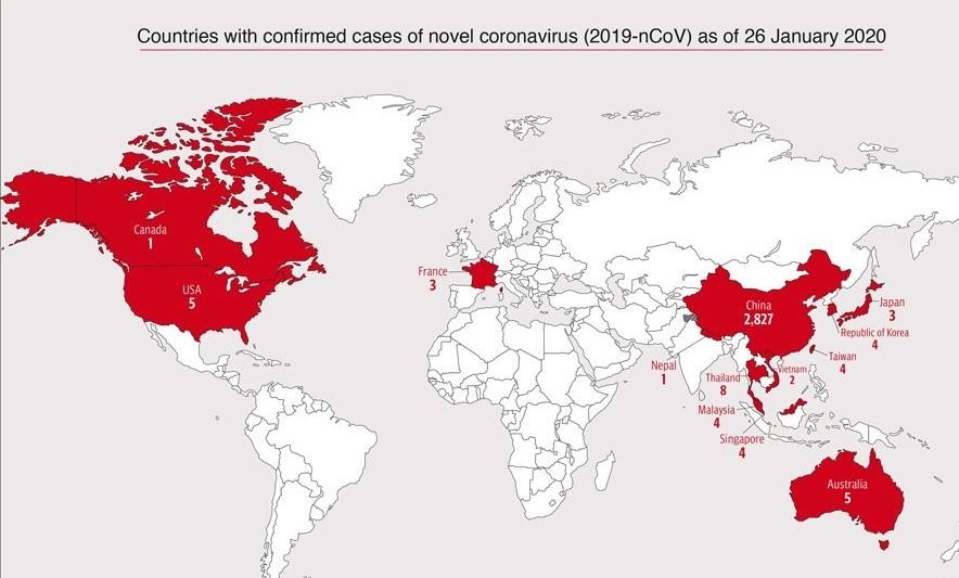 corona-virusu-hangi-ulkelerde-goruldu-h1580469425-53a167-1 Çin Corona virüsü salgını dünyaya yayılmaya devam ediyor! Korono virüsü haritasını paylaştılar