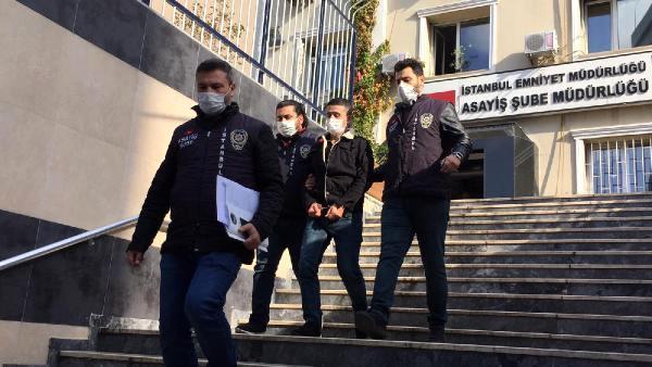 Jinayetchi-Aliyov-sakchilar-terefindin-tutulup-elip-manghan-kurunushi Avcılar'da Uygur Türkü'nün silahla saldiran iki cani tutuklandı