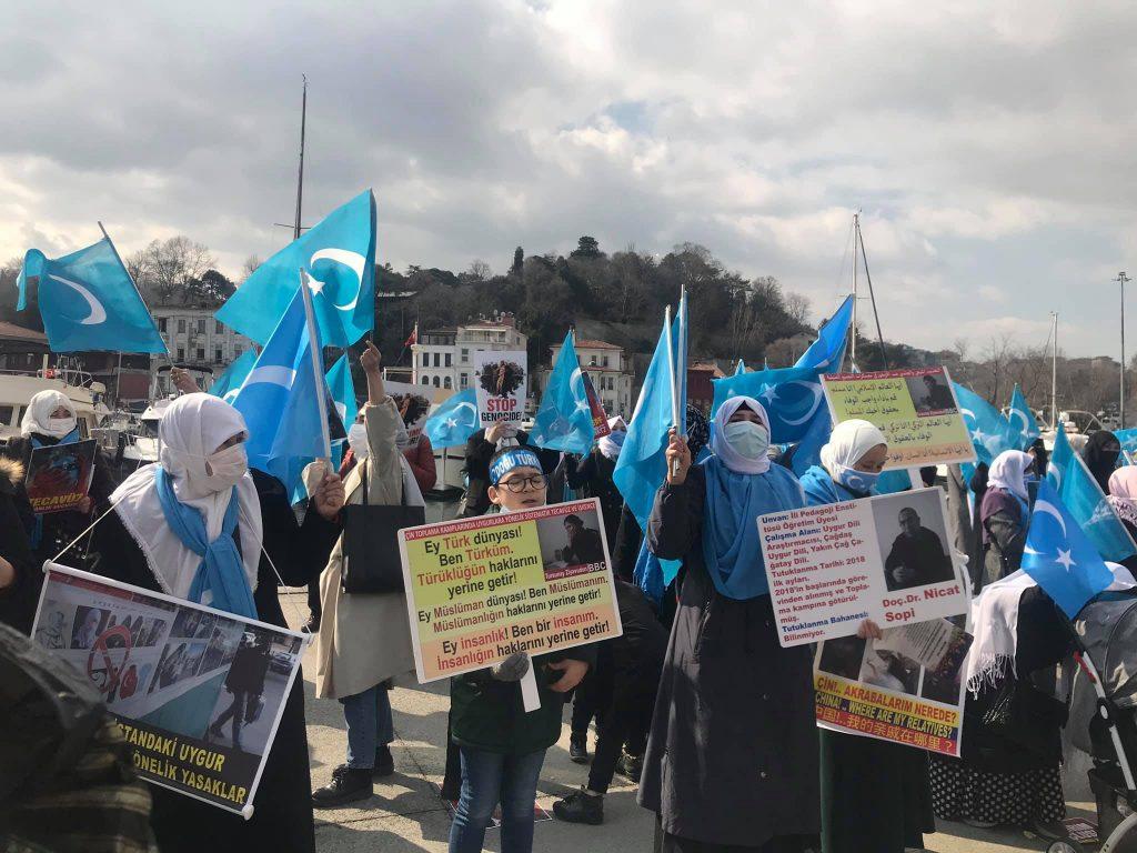 158890602_3778181715583058_779157257105501131_o-1024x768 Doğu Türkistan'da kadın olmak konulu Protesto ve Basın açıklaması gerçekleşti