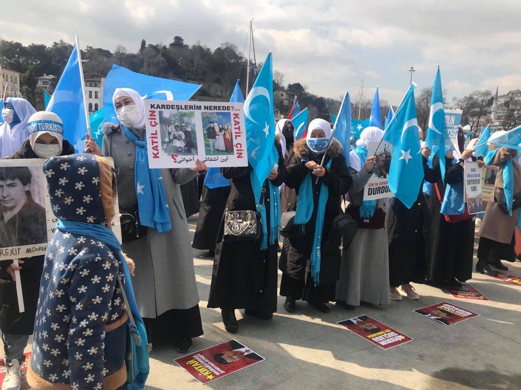 158909869_3778181868916376_1951935216919538031_o-1024x768 Doğu Türkistan'da kadın olmak konulu Protesto ve Basın açıklaması gerçekleşti