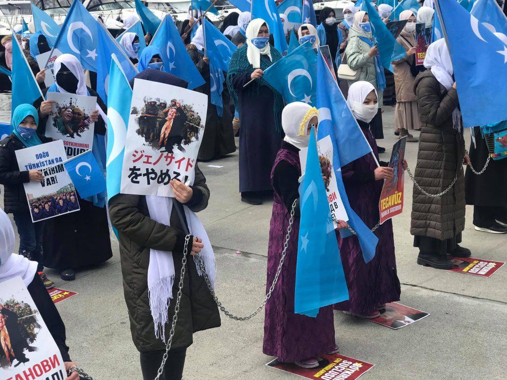 158910148_3778181805583049_2506344421071616267_o-1024x768 Doğu Türkistan'da kadın olmak konulu Protesto ve Basın açıklaması gerçekleşti