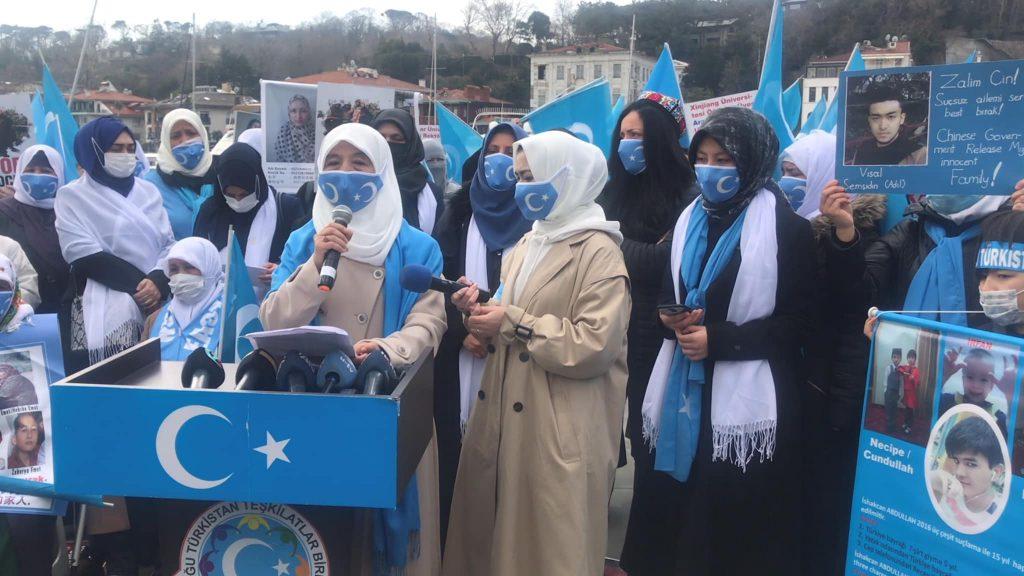 158987885_3778182092249687_3513517073403258970_o-1024x576 Doğu Türkistan'da kadın olmak konulu Protesto ve Basın açıklaması gerçekleşti